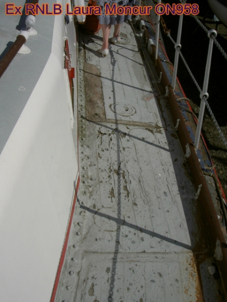 general deck condition, paint bad condition