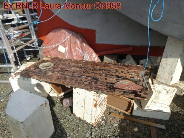 port tank hatch under repair