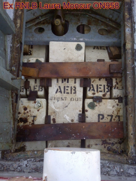 air cases under aft hatch